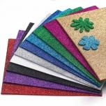 Foam vahtmaterjalist glitter A4 lehed 10 tk