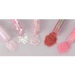 Glitterpurude assortii 1,8g*5tk Roosa/Blossom