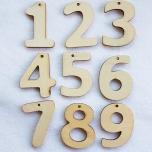 Puidust numbrid