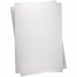 Termokahanev plastik 20*30 cm, matt, läbipaistev