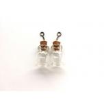 Mini purk klaasist 15*22mm 2tk