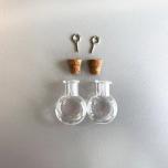 Mini purk klaasist 19,2*10*24mm 2tk