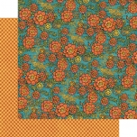 Disainpaber Fanciful Floral 681 30,5*30,5 cm