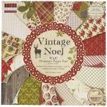 "Paberiplokk 20*20 cm 48 l ""Vintage Noel"""