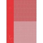 Disainpaber A4 Kuused punane NEVA032