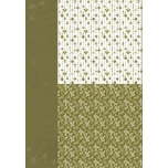 Disainpaber A4 Jõuornamendid roheline NEVA039