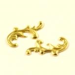 Metall filigraan 17*8mm kuldne