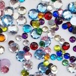 Poolpärlid-kristallid mix 5-10mm 10g
