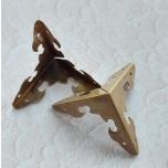 Metallnurk pronks 3 cm 1tk