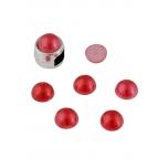Poolpärlid 8m punane 30tk