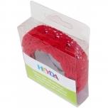 Puuvillane pits liimiga 15mm*2m punane