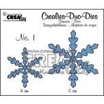 "CREAlies lõiketera ""Lumehelbed no1"" CLDD01"