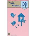 """Nellie lõiketera """"Linnud majaga"""" SDB032"""