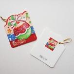 """Väike jõulukaart sädelusega """"Jõulukuul"""""""