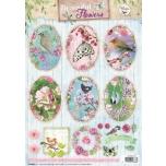 Beautiful Flowers A4 rebitavad pildid 1372