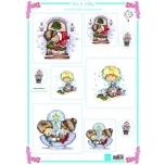 """A4 paber """"Don ja Daisy jõulud"""" DDk3216"""