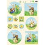 "A4 paber ""Hettys Easter"""