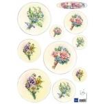 """A4 paber """"Bouquet """" IT574"""