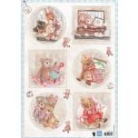 """A4 paber """"Teddy Bears """" ewk1250"""