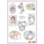 "A4 paber ""Nanny Memories "" ewk1230"