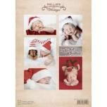 """A4 paber """"Vintage jõulubeebid"""".NEVI061"""