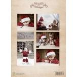 """A4 paber """"Vintage jõulupoiss"""" NEVI063"""