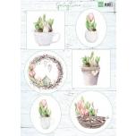 """A4 paber """"Springtime"""" vk9565"""