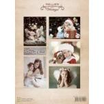 "A4 paber ""Vintage Jõulurõõm"""