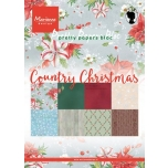 "Paberiplokk ""Country Christmas "" 32l A5"
