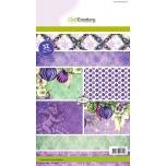 "Paberiplokk ""Purple Holidays"" 32l A5"