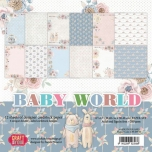 "Craft&You paberiplokk 12*12 ""Baby World"" 36 lehte"