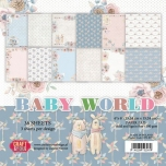 "Craft&You paberiplokk 6*6 ""Baby World"" 36 lehte"