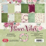 "Craft&You paberiplokk 6*6 ""Flower Vibes"" 36 lehte"