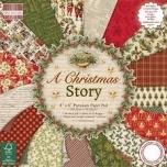 """Paberiplokk 20*20 cm 48 l """"A Christmas Story"""""""
