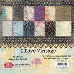 "Craft&You paberiplokk 6*6 ""I Love Vintage"" 36 lehte"