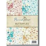 "Disainpaberid ""Butterflies""  A4 40 lehte"