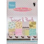 """Paberiplokk """"Twinset&Pearls"""" 32l A5"""