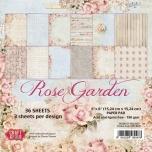 "Craft&You paberiplokk 6*6 ""Rose Garden"" 36 lehte"