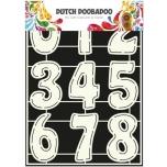 """Šabloon A4 """"Suured numbrid"""" 470.455.003"""