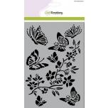 """Šabloon A5 """"Liblikad, lilled"""" 185070/1251"""