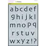 "Šabloon A4 ""kirjatähed kleine letters"" 185070/2205"