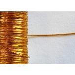 Metalliknöör kuldne 2mm