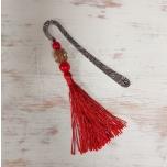 Järjehoidja Punane tutiga 12cm
