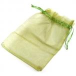 """Kinkekott """"Organza"""" 12*18 cm roheline"""