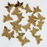 Litrid kuldsed liblikad 20 tk