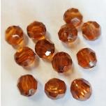 Sünteetiline pärl pruun 16 mm 12 tk