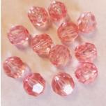 Sünteetiline pärl roosa 16 mm 12 tk