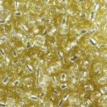 Klaashelmes 2mm hõbedase sisuga kuldne  20g