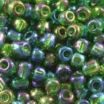 Klaashelmes 3,5mm AB-läikega roheline 20g