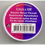 Elastiktamiil 0,5mm 10m läbipaistev